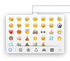 Tastenkombi smiley Emojis in
